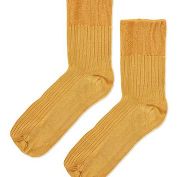 Slinky Ribbed Ankle Socks
