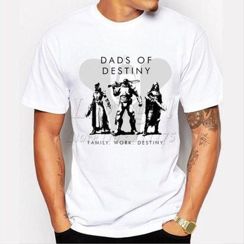 VLX85E Beauty Ticks Dads Of Destiny Design Men S T-shirt 2017 Funny Tee Shirts Hipster O-neck Cool Tops