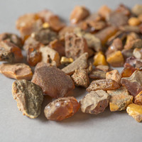 Vintage Raw Amber Pieces Nuggets Kaliningrad, Baltic amber unpolished stone, Amber Drop undrilled craft art supply, vintage amber collection