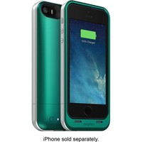 mophie - juice pack air External Battery Case for Apple® iPhone® 5 and 5s - Emerald Green