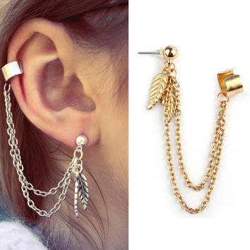 Punk Alloy For Women Earrings 003