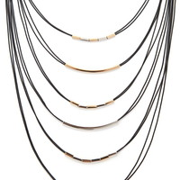 Layered Cord Necklace