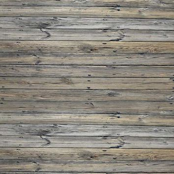 Pewter Gray Wood Candy Floor Drop - 8x8 - LCCF6059 - Last Call