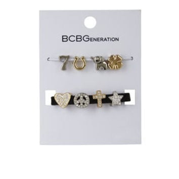Lucky Custom Affirmation Charm Kit in Black - BCBGeneration