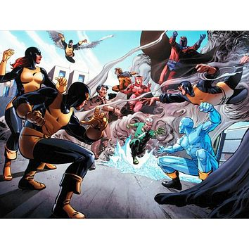 X-Men Giant-Size #1 - Limited Edition Giclee on Stretched Canvas by Paco Medina and Marvel Comics