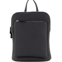 Front Pocket Convertible Backpack in Grey