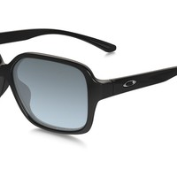 Oakley Womens Sunglasses - Proxy - Polished Black, Grey Gradient Polarized OO931