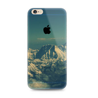 Snow Mountain Nature iPhone 6s 6 Plus SE 5s 5 Soft Clear Case