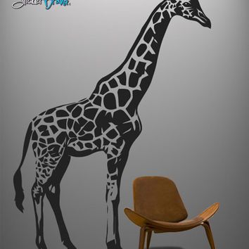 Vinyl Wall Decal Sticker BIG Giraffe #383