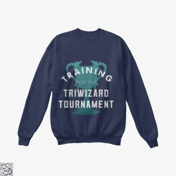 Training Triwizard Tournament, Harry Potter Crew Neck Sweatshirt