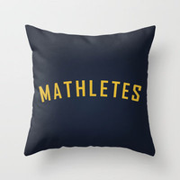 Mathletes - Mean Girls movie Throw Pillow by AllieR | Society6