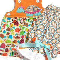 Baby Girl Clothes - Turtle Clothes for Baby Girl -. Baby Summer Wear
