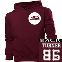 Arctic Monkeys Michael Turner 86 hoodie unisex adults size s-4xl