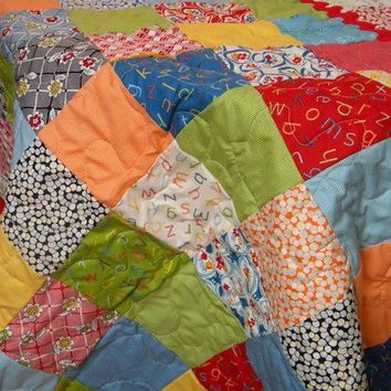 Bright Baby Quilt