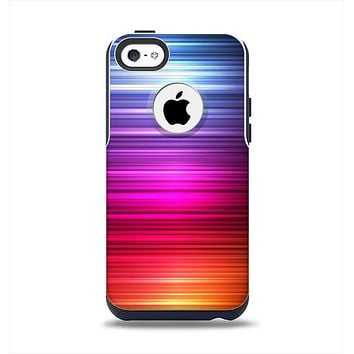The Straigth Vector HD Lines Apple iPhone 5c Otterbox Commuter Case Skin Set