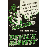 Devil's Harvest Domestic Poster