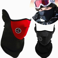 Sport cap windproof half face mask cycling mask dustproof face mask bike cap motorcycle running ski mask warm hat Outdoor beanie