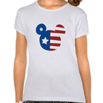 Patriotic Mickey Mouse Shirt from Zazzle.com