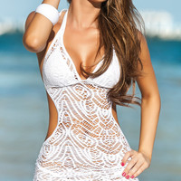 Island Dreams Lace Beach Dress & Cover-Up
