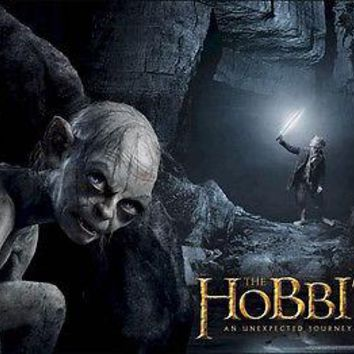 """The Hobbit Lord of Rings LOTR Gollum Poster Picture Art Print 22""""x34"""" LICENSED"""