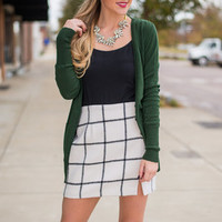 Neighborhood Cardigan, Green