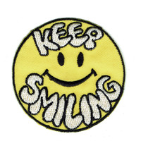 Keep Smiling Patch