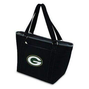 PICN-619001751242-NFL Green Bay Packers Topanga Insulated Cooler Tote, Black