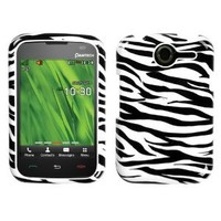 MYBAT PNP6030HPCIM056NP Compact and Durable Protective Cover for PANTECH P6030Â  - 1 Pack - Retail Packaging - Zebra Skin
