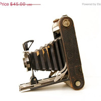 33% OFF SALE Antique Kodak Jr. Fold Out Camera, No. 2 Autographic, For Display Only