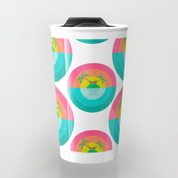 Summer Island Unicorn Travel Mug by That's So Unicorny