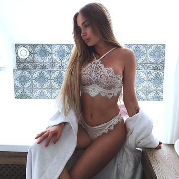 US Women Girl Sexy/Sissy Lingerie Babydoll G-String Lace Thong