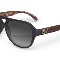 Supercat Sunglasses: Wood Grain Customs