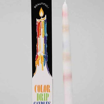 Color-Drip Candle Set