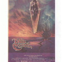 1982 The Dark Crystal Movie Poster Adversitement