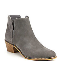 Cole Haan - Abbot Suede Booties - Saks Fifth Avenue Mobile