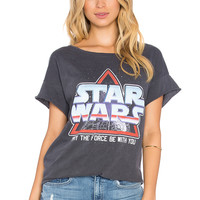 Junk Food Star Wars Tee in Jet Black