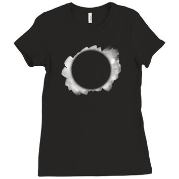 Danisnotonfire Eclipse Ladies Fitted T-Shirt