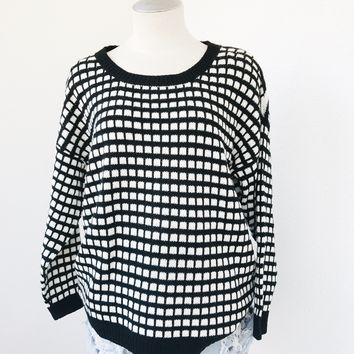 CILA MONOCHROME SWEATER
