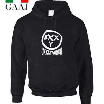 OXXXYMIRON Women hoodies sweatshirts Woman Brand Clothing Russia Rappers Band Coats 2016 New Hoodie Felpe Hooded Fashion  H