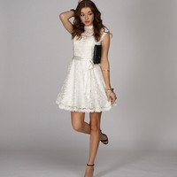 Off White Lacey Delight Dress