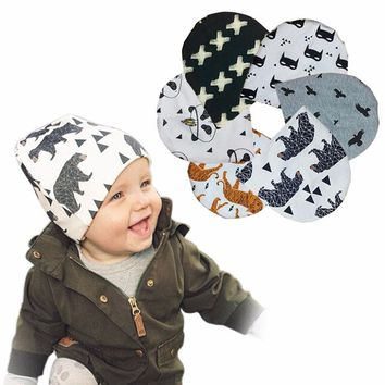 Hipster baby Beanies boy slouchy beanie Knit toddler cap warm scary 10 Pattern selection