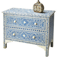 Blue & White Bone Dresser