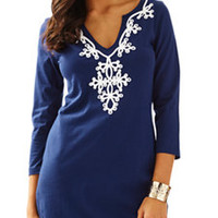 Marina 3/4 Sleeve T-Shirt Dress - Lilly Pulitzer