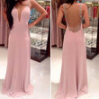 Women Backless Party Evening Prom Dress