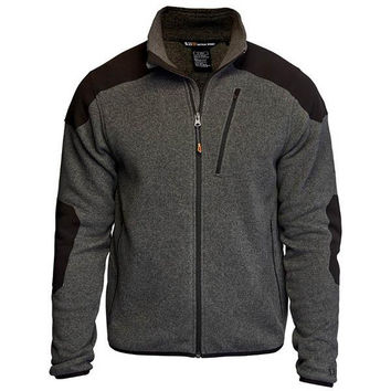 5.11 Tactical Full Zip Sweater, Gun Powder, 2XL