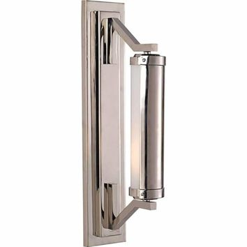 Visual Comfort and Company TOB2300PN Polished Nickel Eclipse Wall Light