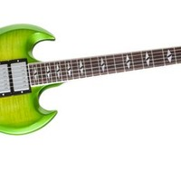 Gibson SG Deluxe Electric Guitar Lime Burst | Music123