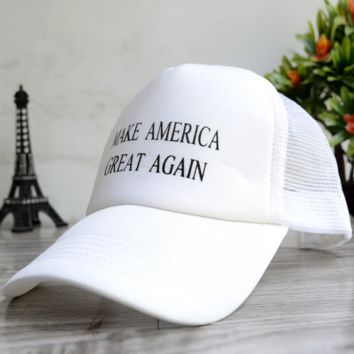 Make America Great Again Embroidered Baseball Cap Hat for Summer
