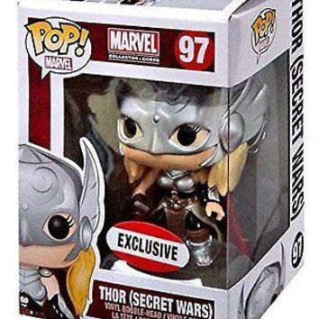 Funko Pop Marvel: Lady Thor Secret Wars Exclusive Vinyl Figure