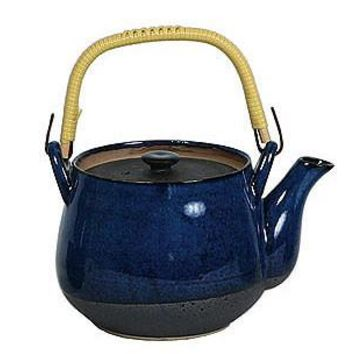 Namako - Blue Japanese Style Teapot and Tea Cups
